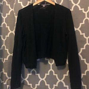 4/$20 Black j Jill short cardigan